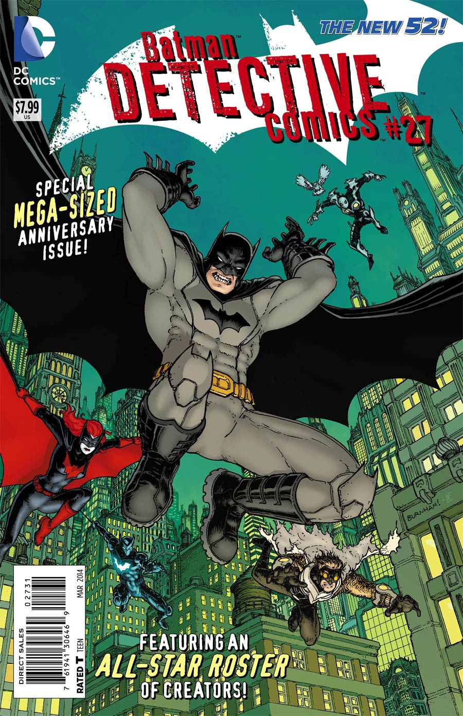 Detective Comics Vol 2 #27 Cover E Incentive Chris Burnham Variant Cover (Gothtopia Tie-In)