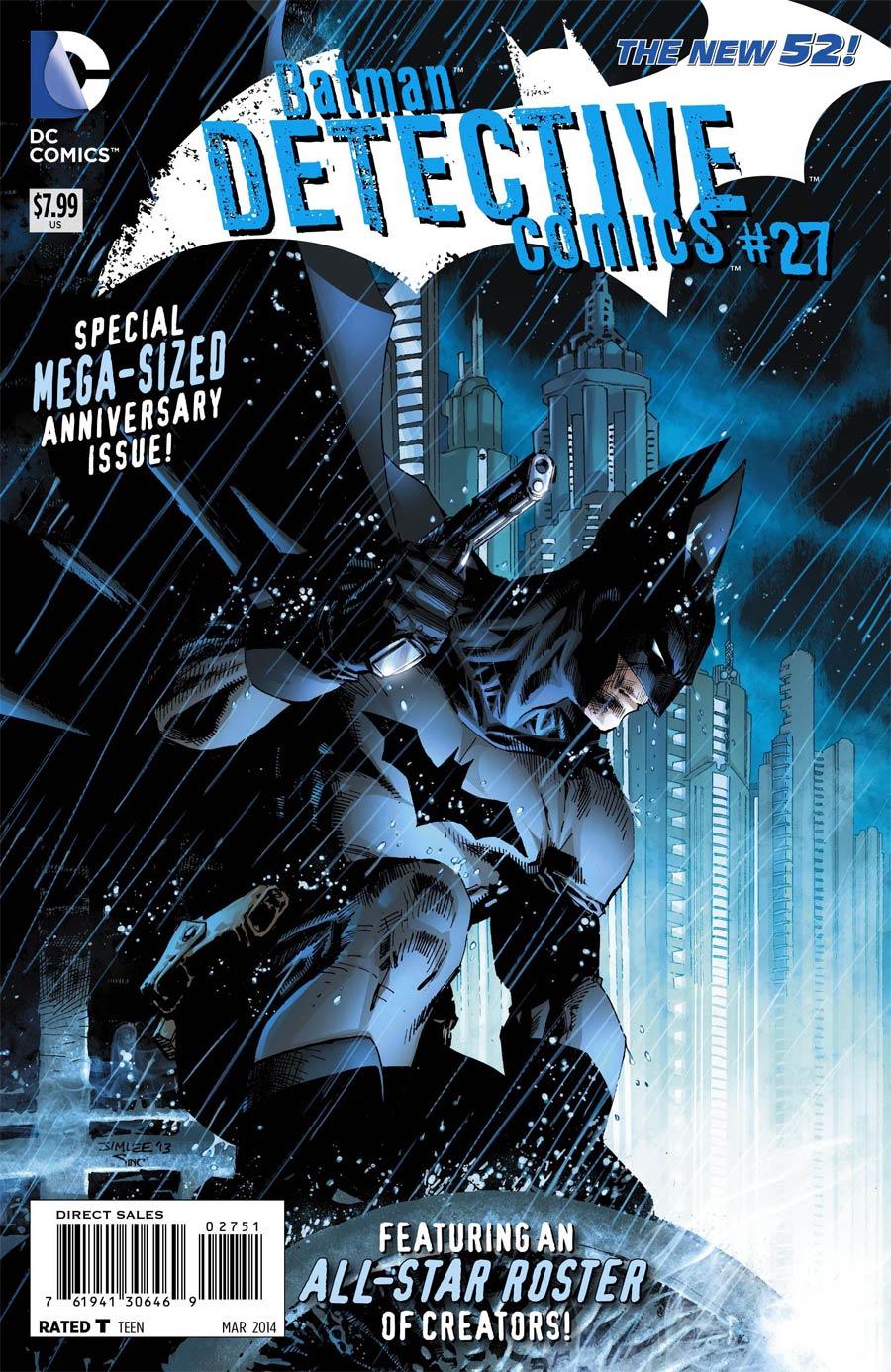 Detective Comics Vol 2 #27 Cover F Incentive Jim Lee Variant Cover (Gothtopia Tie-In)