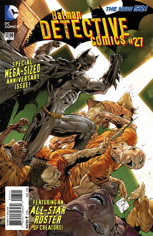 Detective Comics Vol 2 #27 Cover H Incentive Tony S Daniel Variant Cover (Gothtopia)