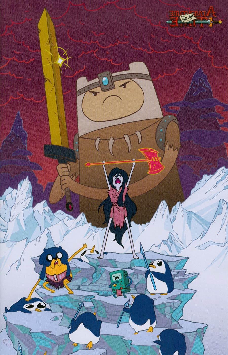 Adventure Time Flip Side #1 Cover C Incentive Ellen Alsop Virgin Variant Cover