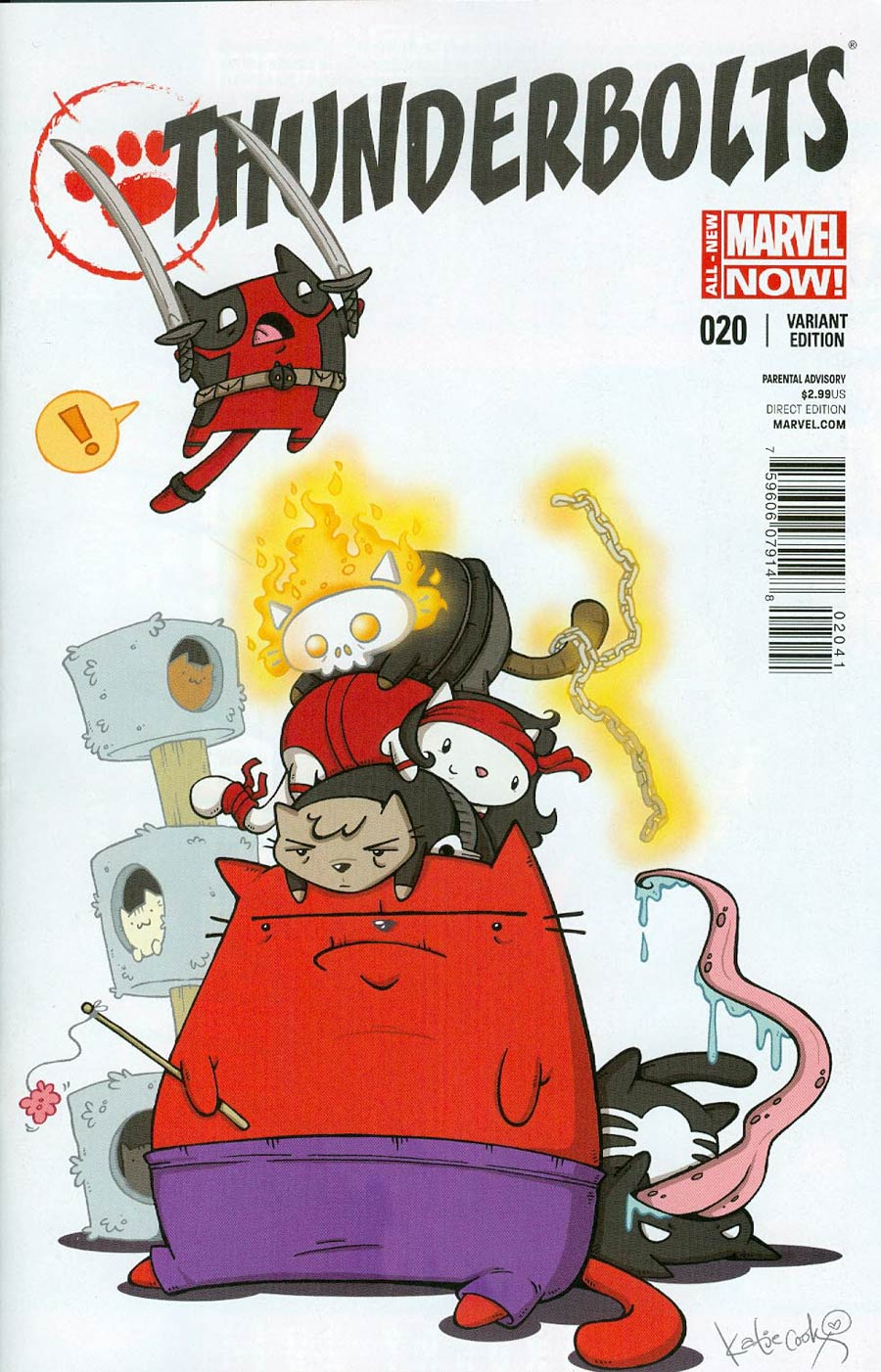 Thunderbolts Vol 2 #20.NOW Cover C Incentive Animal Variant Cover