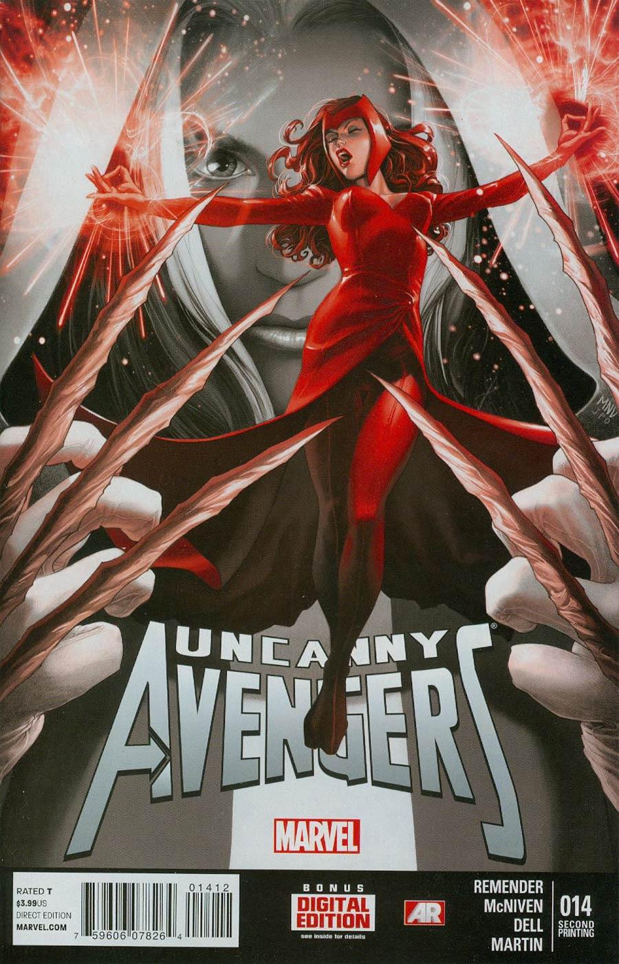 Uncanny Avengers #14 Cover C 2nd Ptg Steve McNiven Variant Cover
