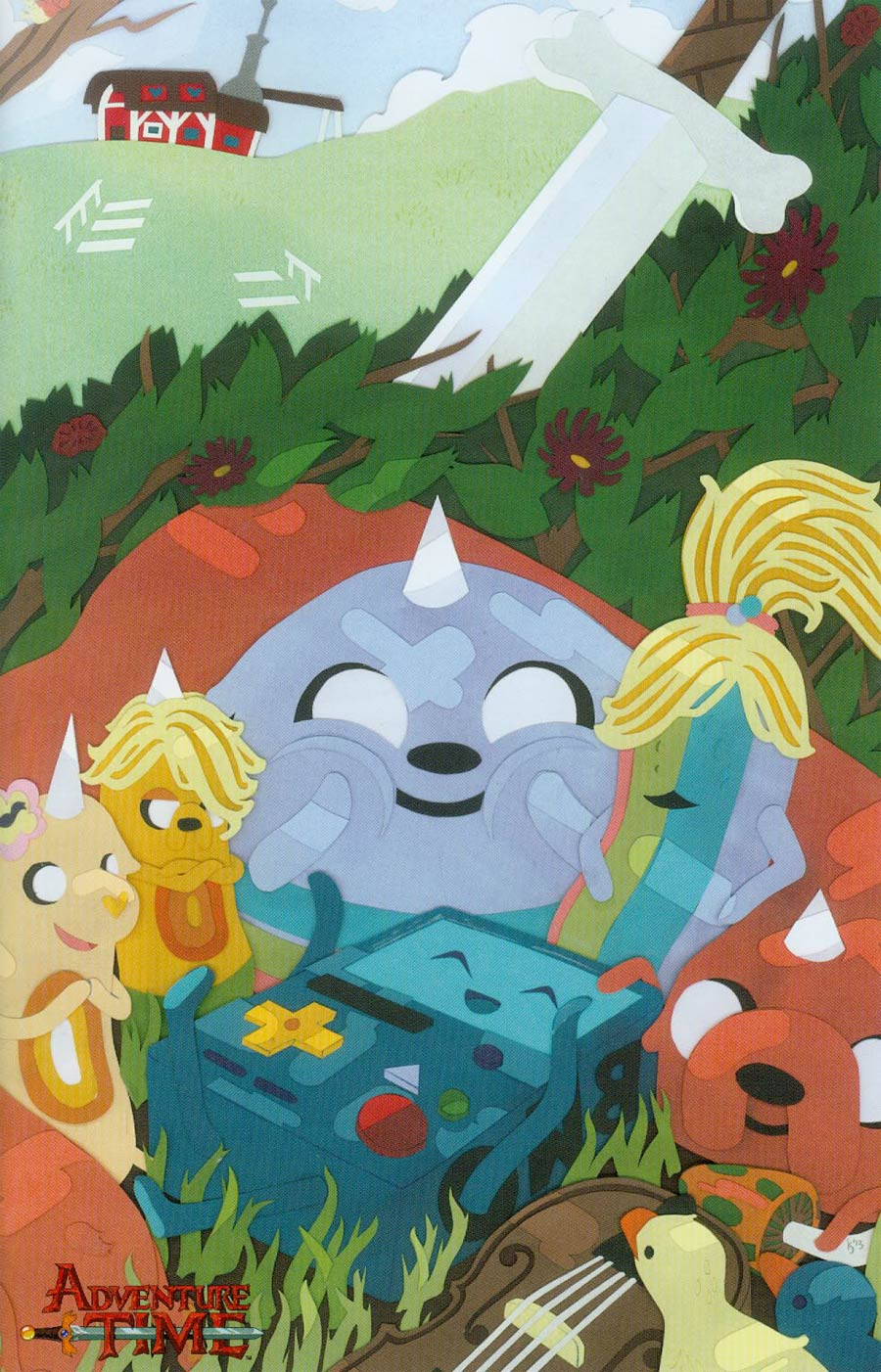 Adventure Time #24 Cover C Incentive Kevin Stanton Virgin Variant Cover