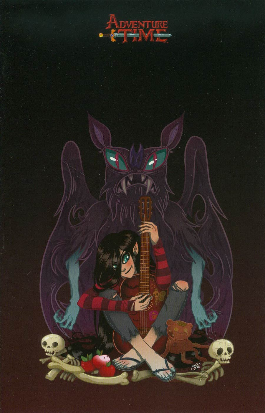 Adventure Time #24 Cover D Incentive Eva Cabrera Virgin Variant Cover