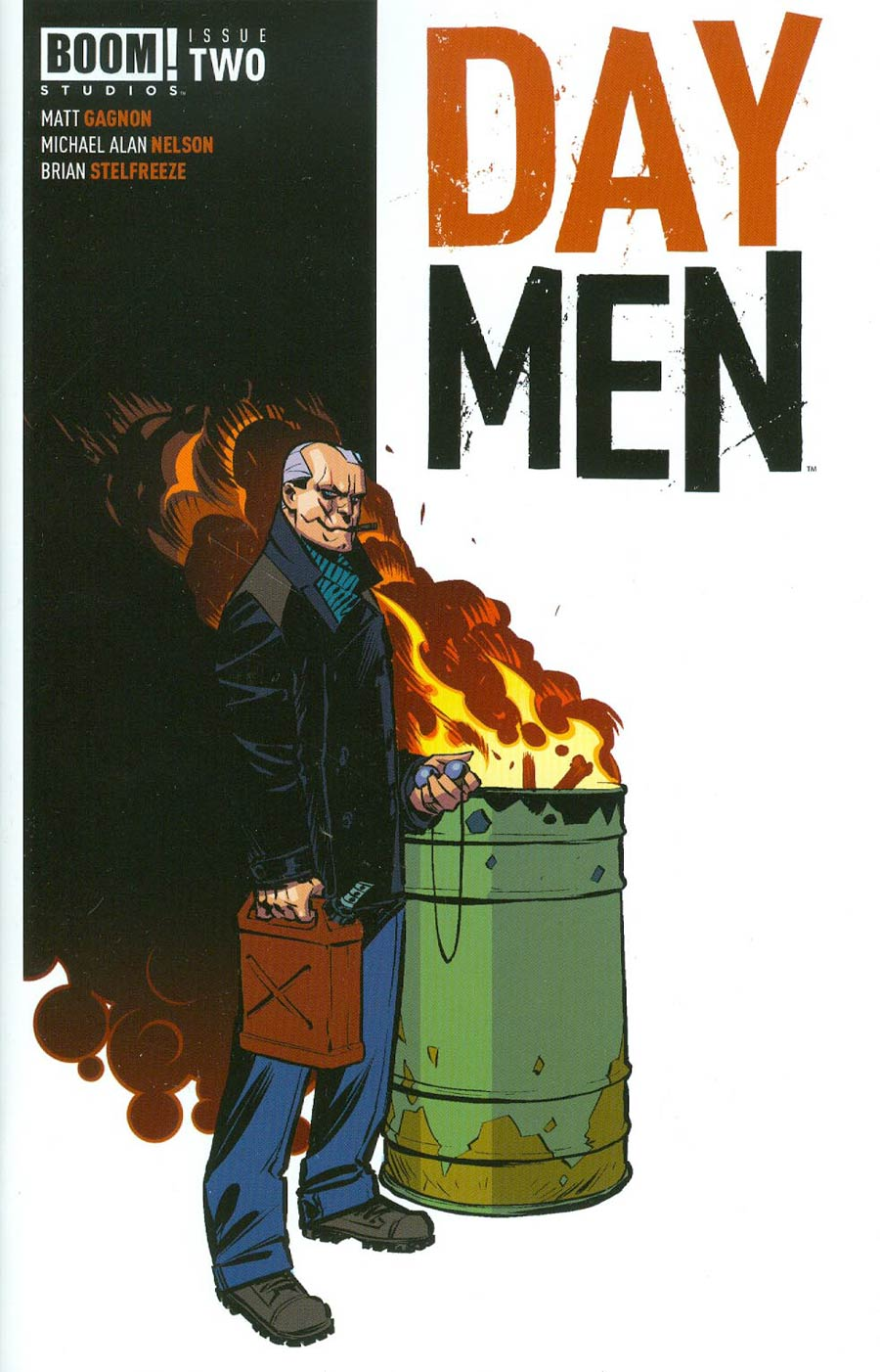 Day Men #2 Cover C 2nd Ptg