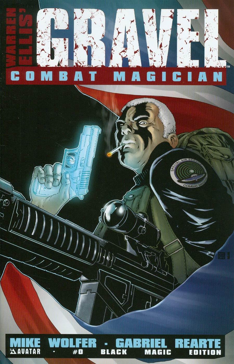 Gravel Combat Magician #0 Cover D Incentive Black Magic Cover