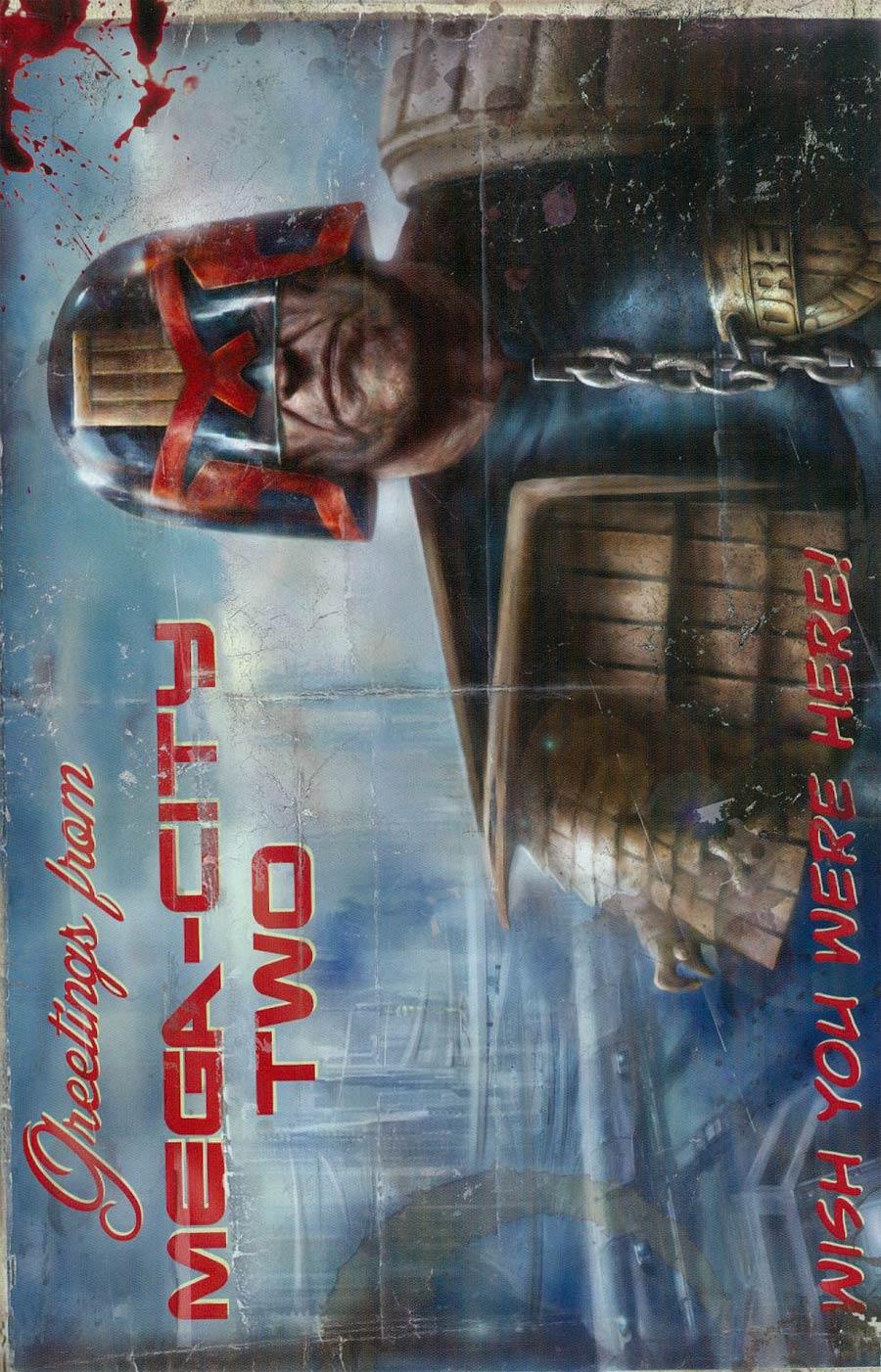 Judge Dredd Mega-City Two #1 Cover C Incentive Nick Percival Variant Cover