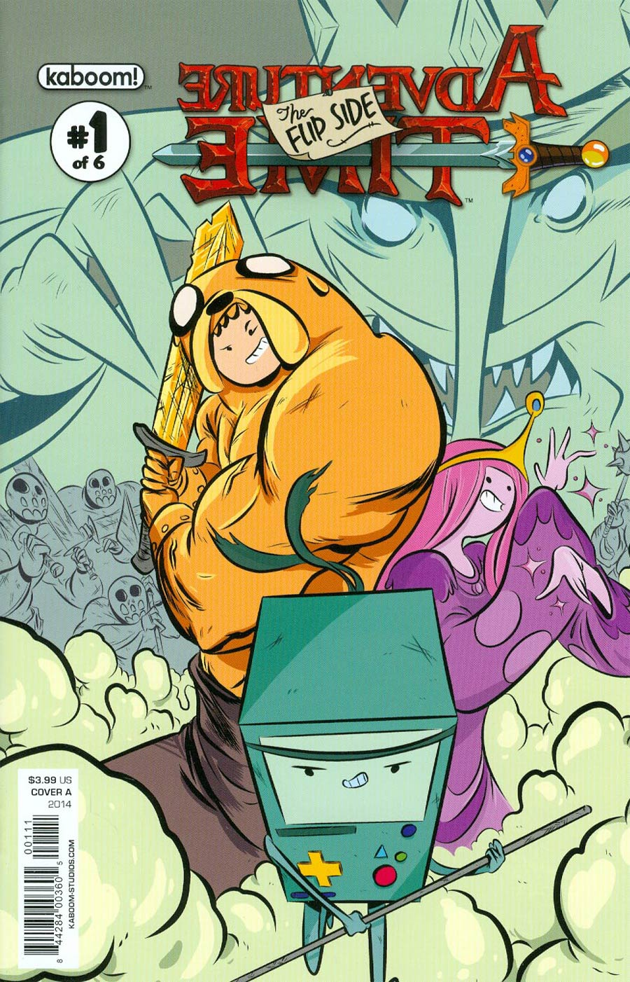 Adventure Time Flip Side #1 Cover A Regular Wook Jin Clark Cover