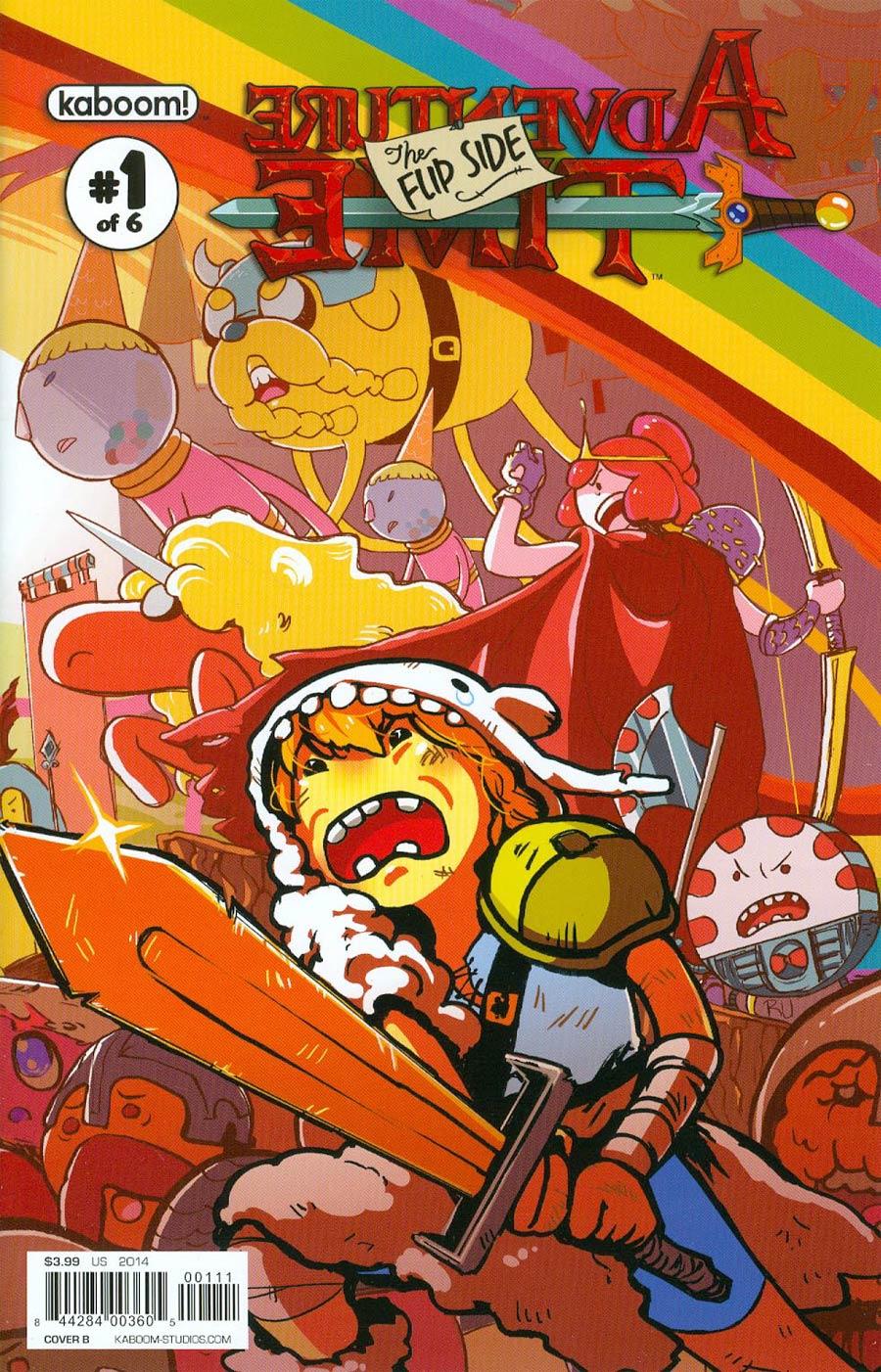 Adventure Time Flip Side #1 Cover B Regular Ru Xu Cover