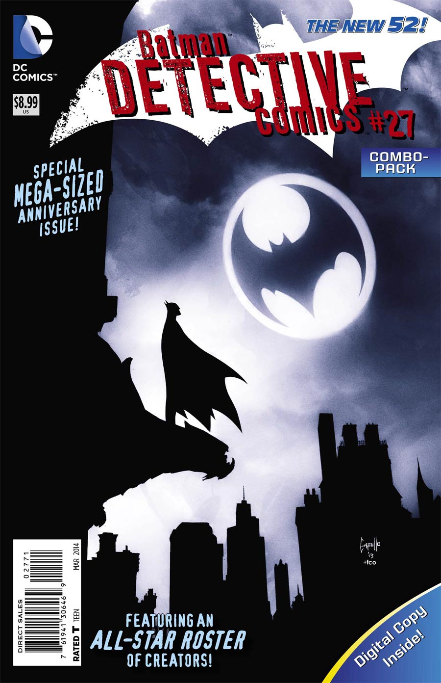 Detective Comics Vol 2 #27 Cover D Combo Pack Without Polybag (Gothtopia Tie-In)
