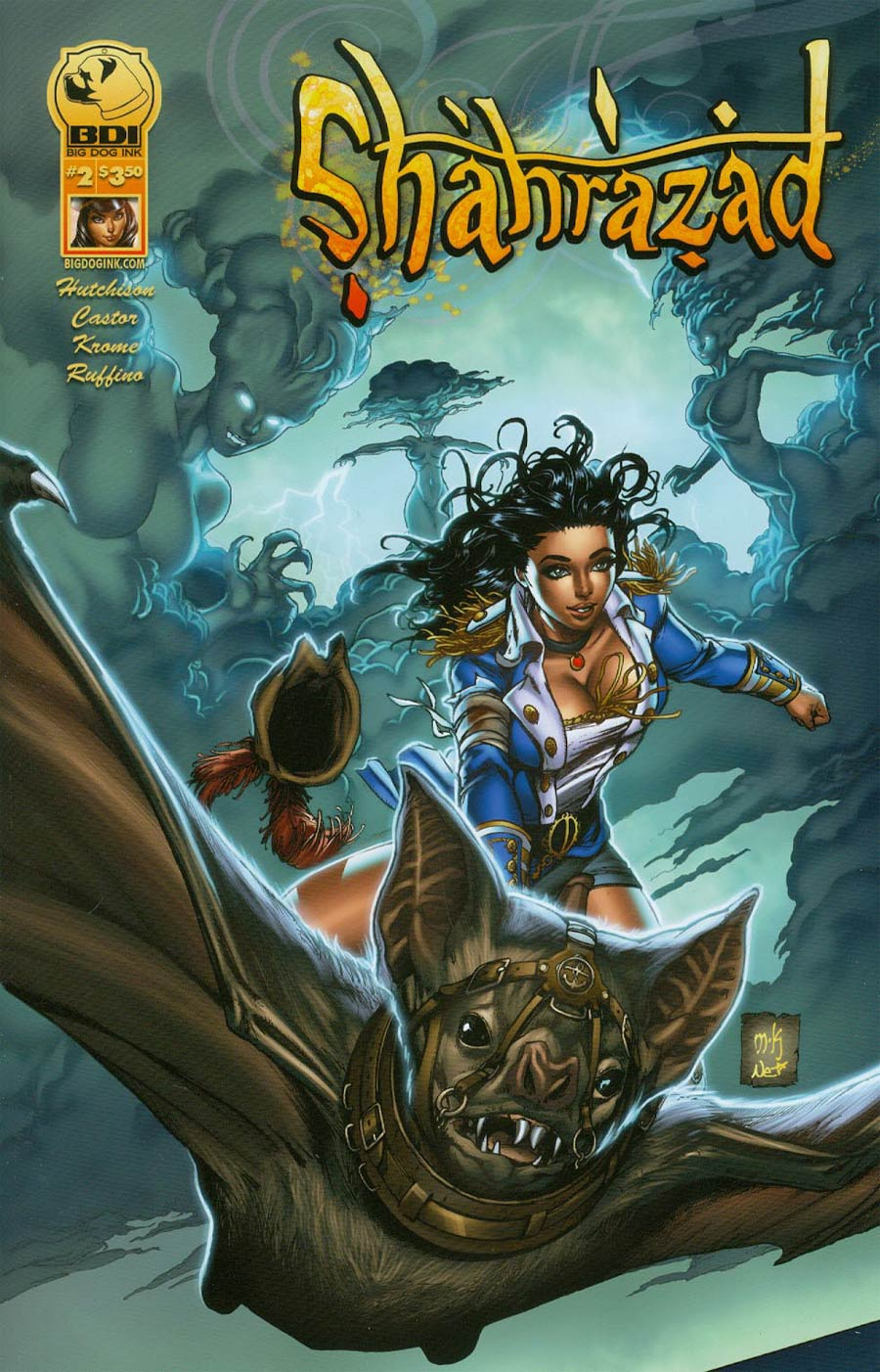 Shahrazad #2 Cover A Regular Mike Krome Cover