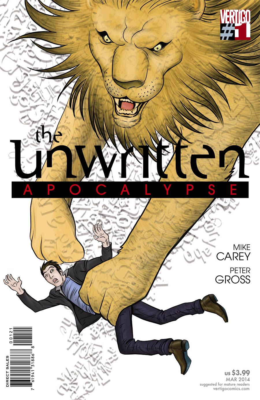 Unwritten Vol 2 Apocalypse #1 Cover B Incentive Peter Gross Variant Cover