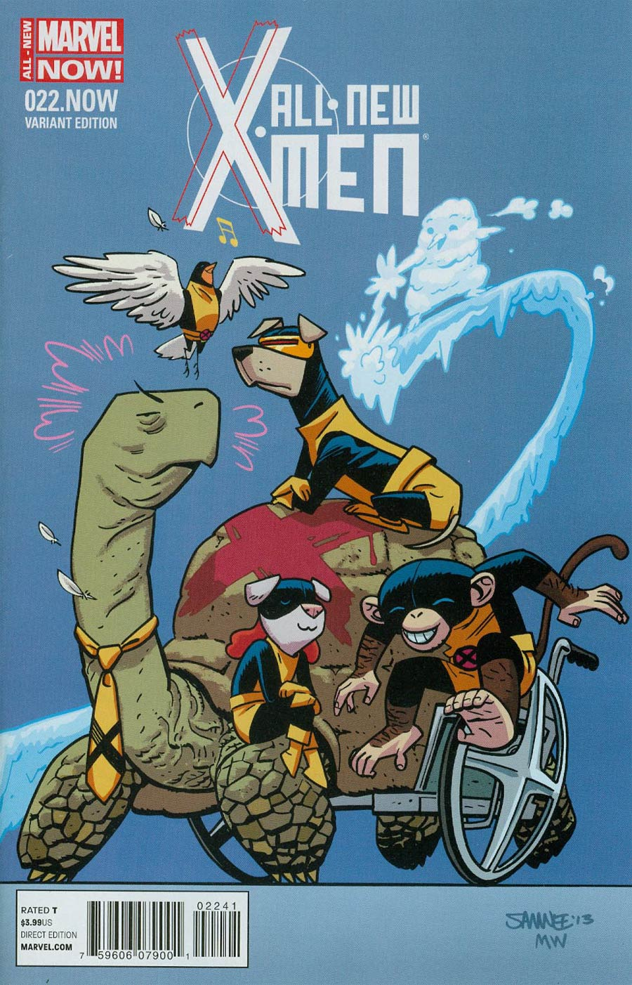 All-New X-Men #22 NOW Cover C Variant Animal Cover (Trial Of Jean Grey Part 1)