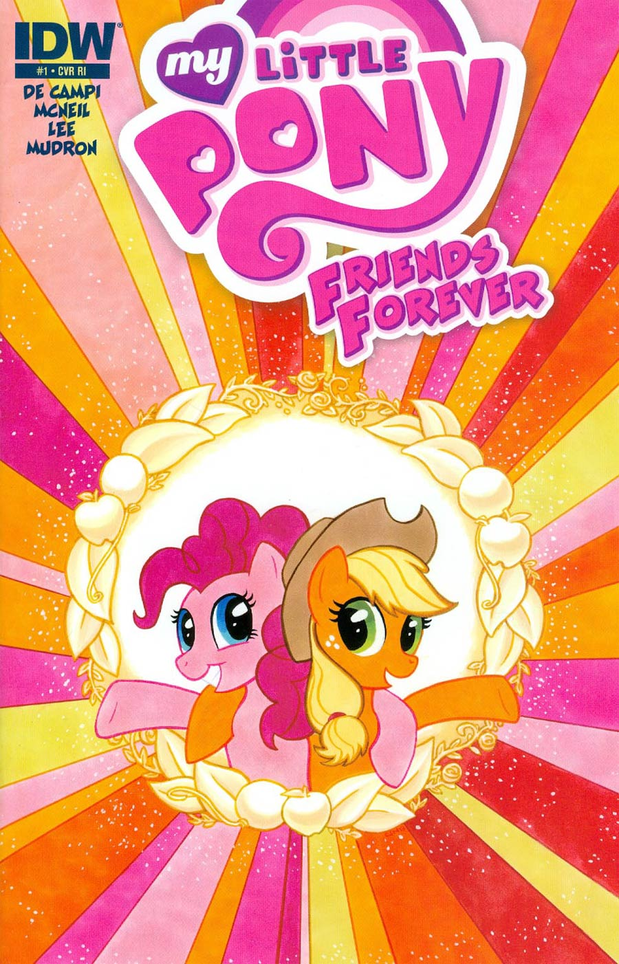 My Little Pony Friends Forever #1 Cover C Incentive Carla Speed McNeil Variant Cover