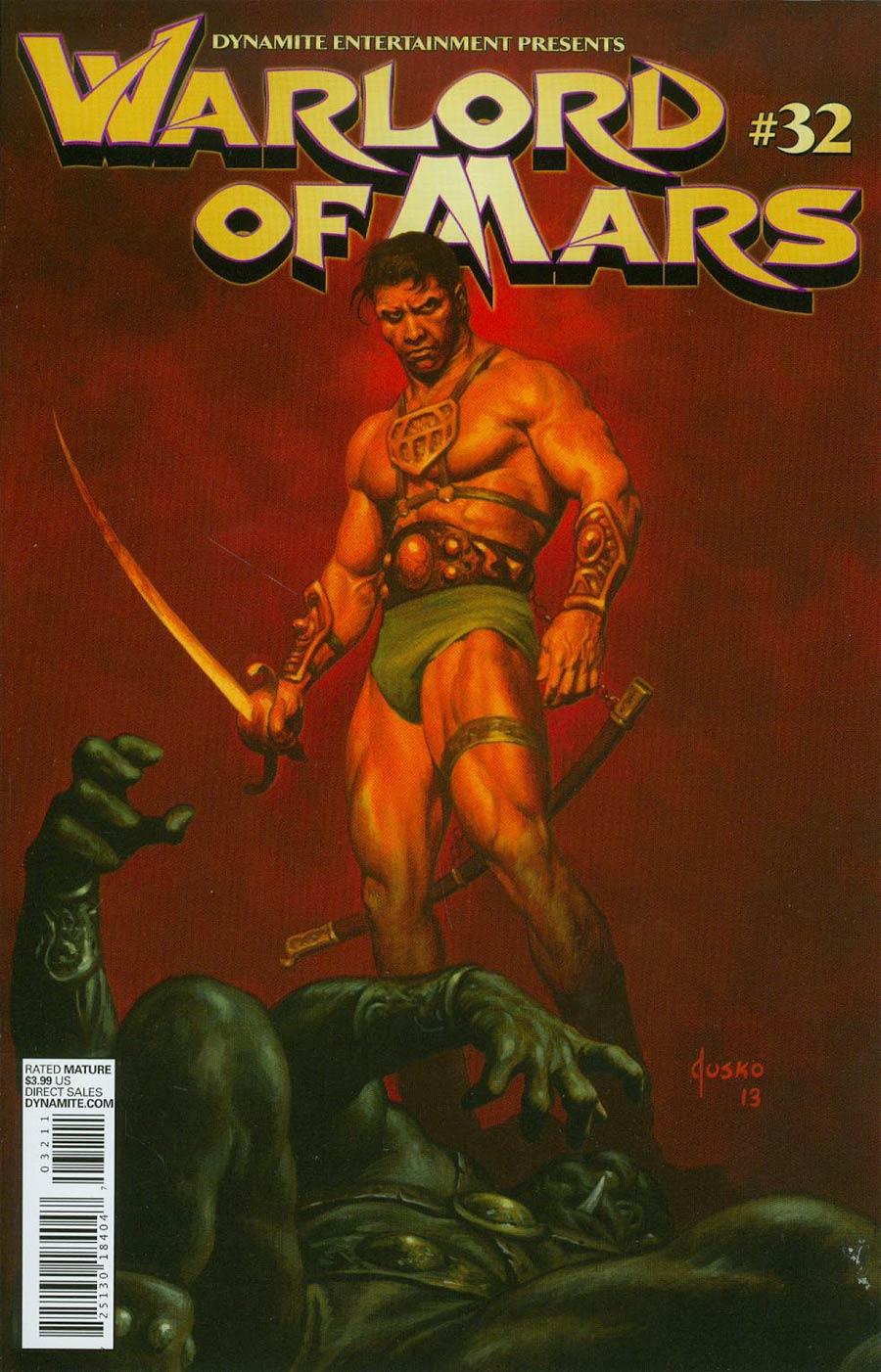 Warlord Of Mars #32 Cover A Regular Joe Jusko Cover