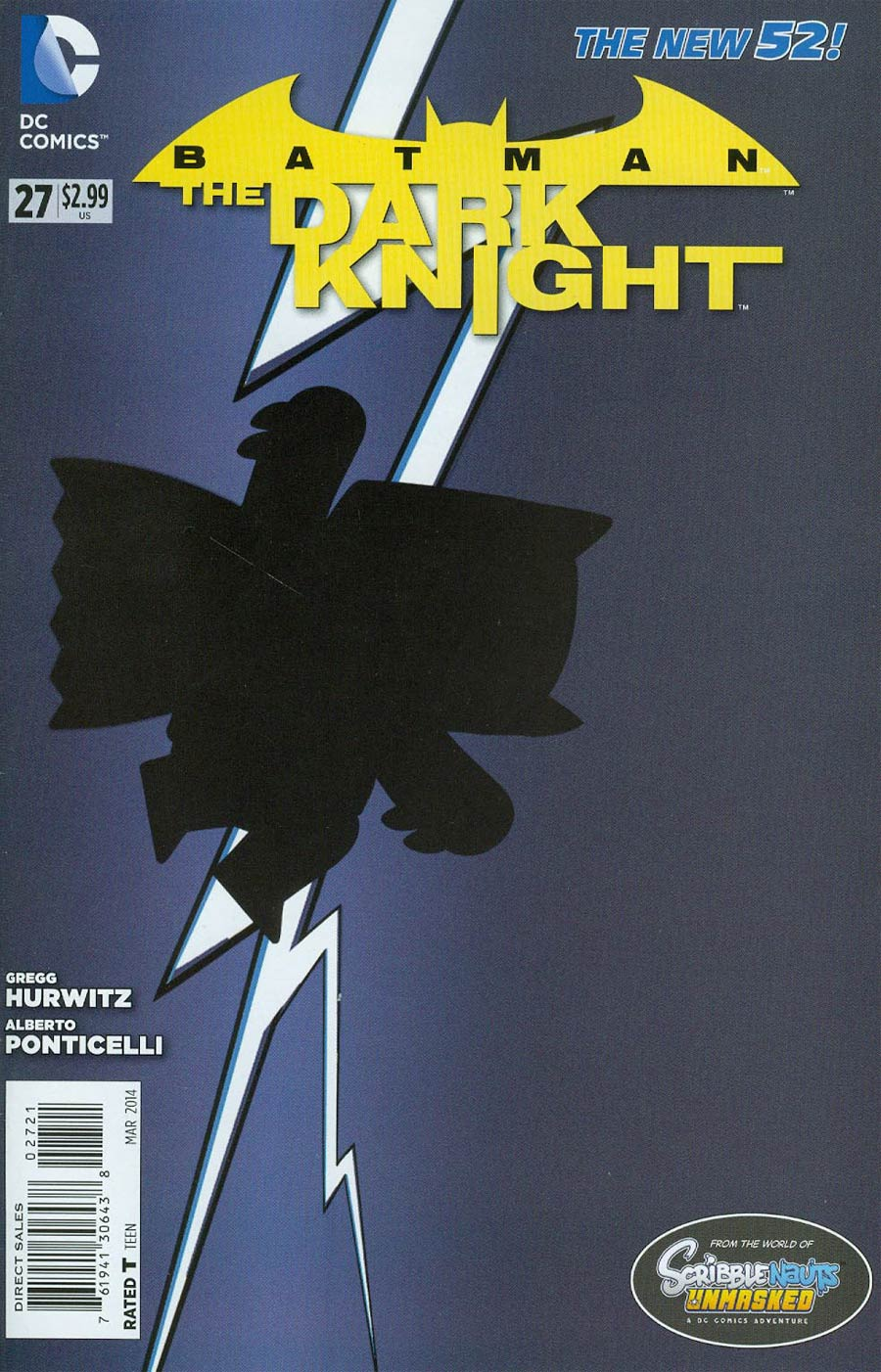 Batman The Dark Knight Vol 2 #27 Cover B Incentive Scribblenauts Unmasked Variant Cover