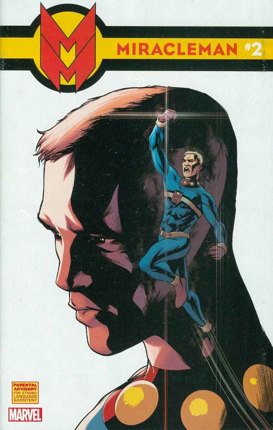 Miracleman (Marvel) #2 Cover C Incentive Mike McKone Variant Cover