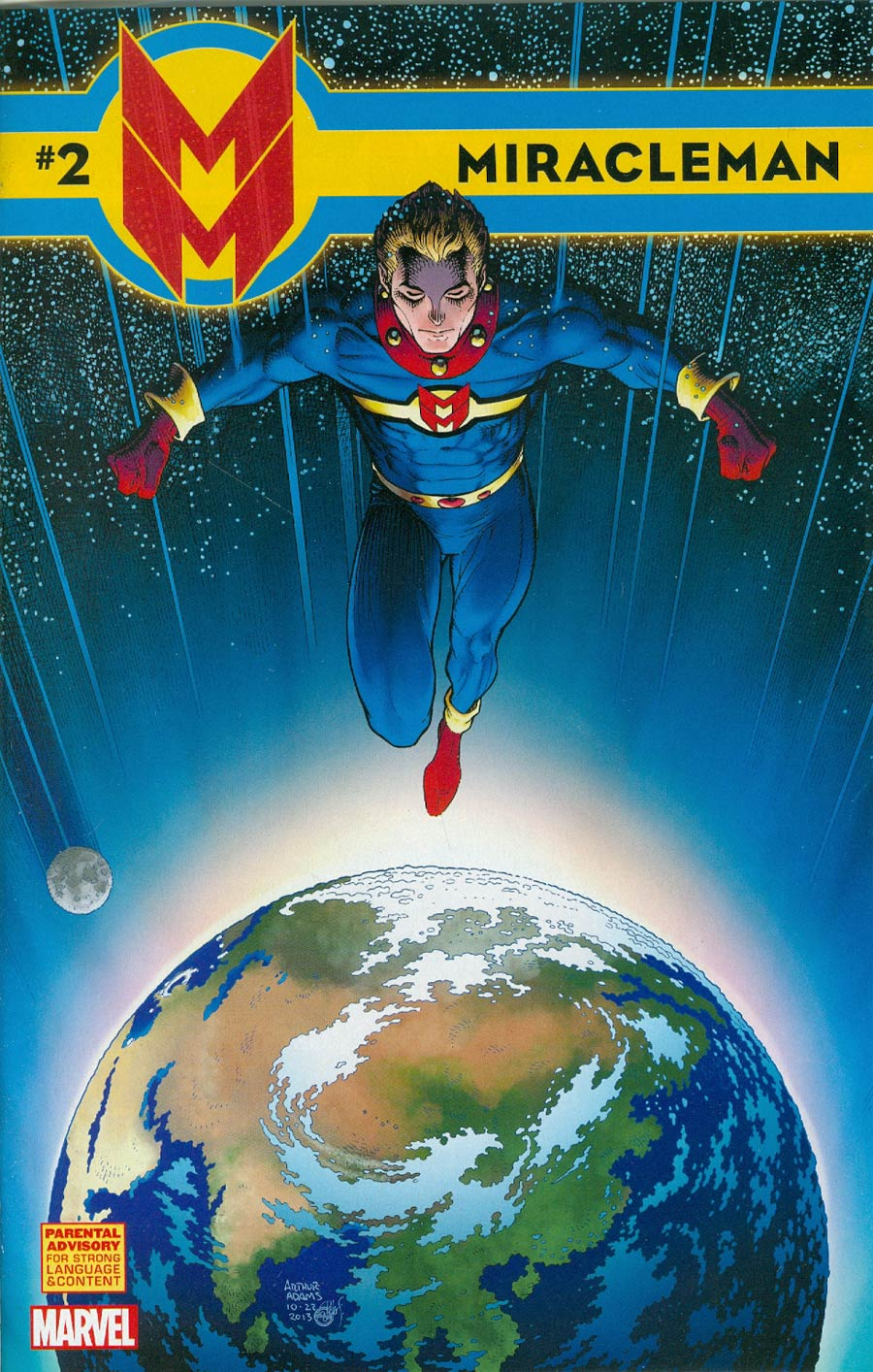 Miracleman (Marvel) #2 Cover D Incentive Arthur Adams Variant Cover