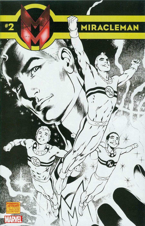 Miracleman (Marvel) #2 Cover E Incentive Alan Davis Sketch Cover