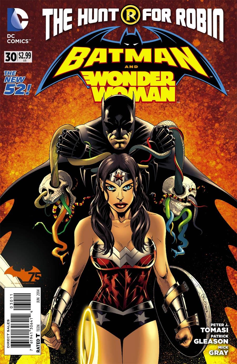 Batman And Wonder Woman #30 Cover A Regular Patrick Gleason Cover