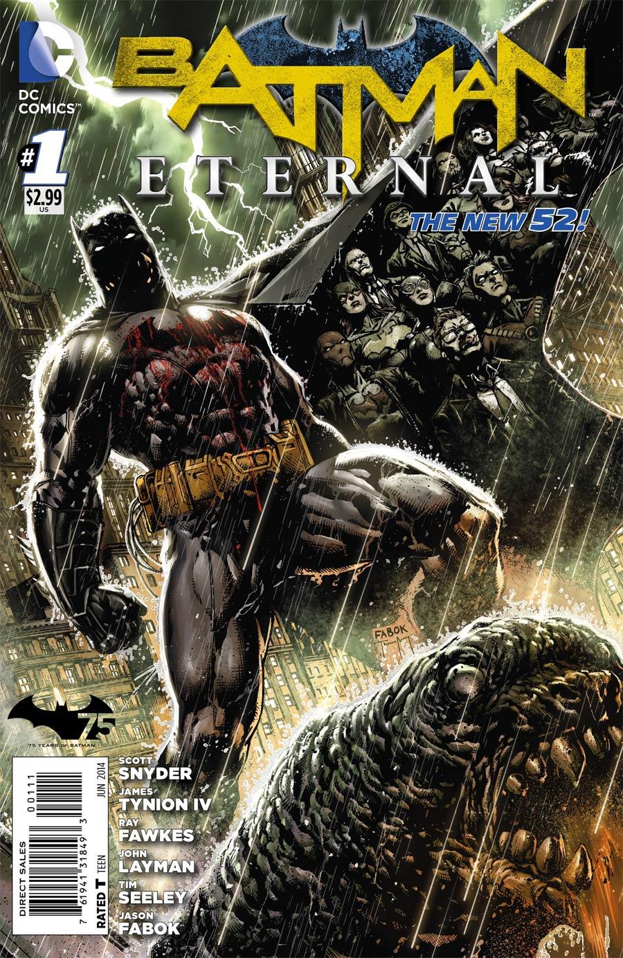 Batman Eternal #1 Cover A Regular Jason Fabok Cover