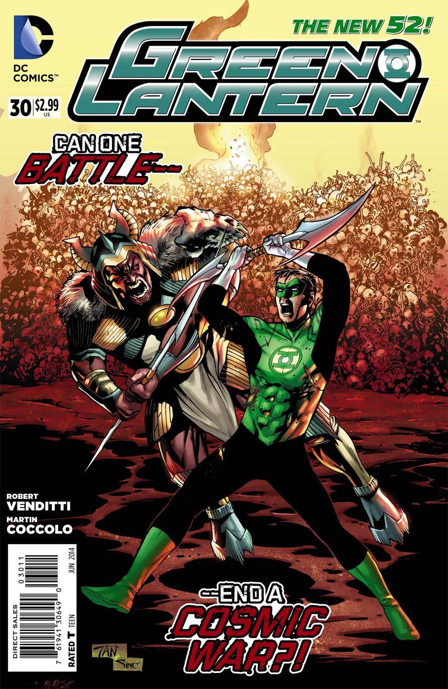 Green Lantern Vol 5 #30 Cover A Regular Billy Tan Cover