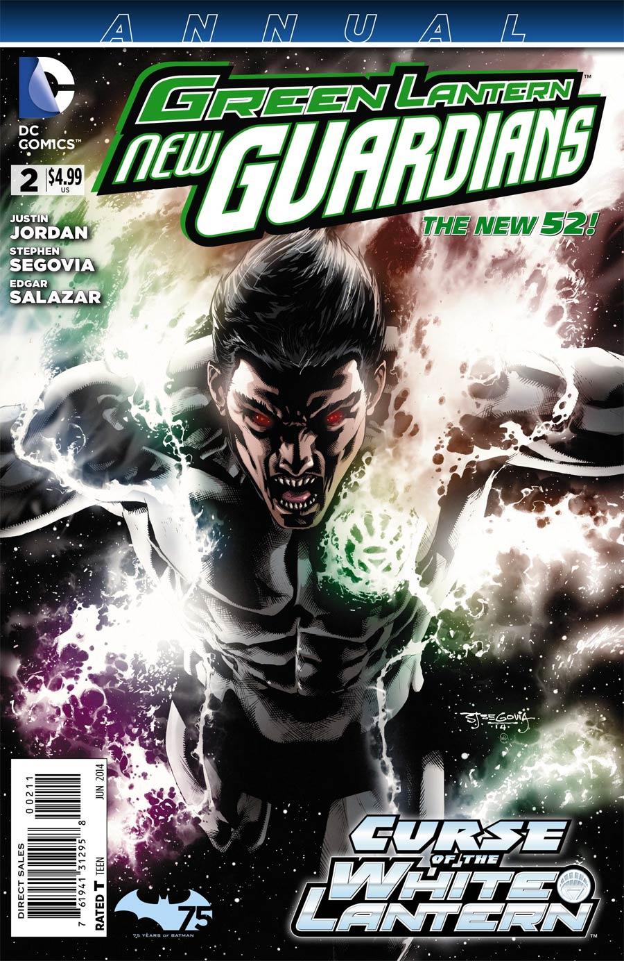 Green Lantern New Guardians Annual #2