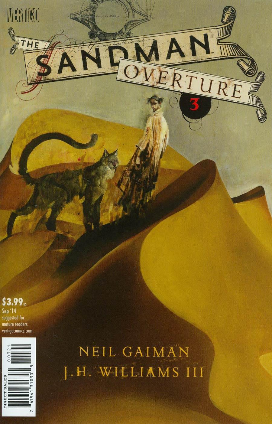 Sandman Overture #3 Cover B Regular Dave McKean Cover