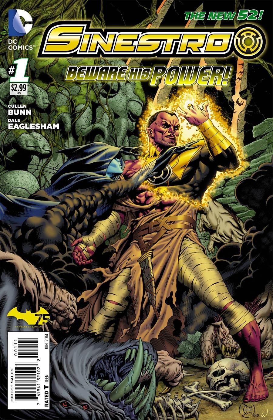 Sinestro #1 Cover A Regular Dale Eaglesham Cover