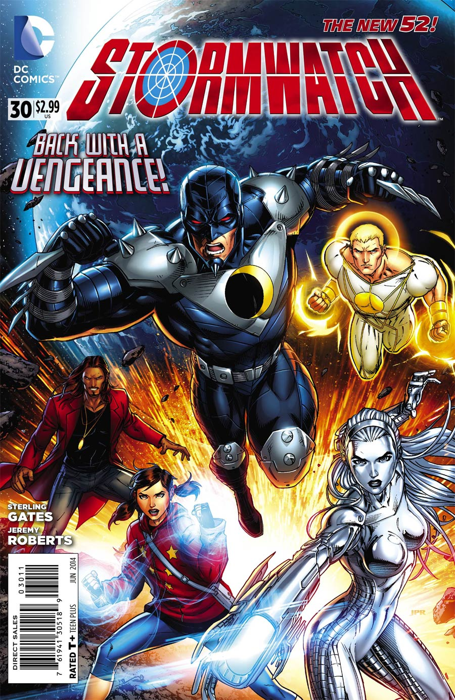 Stormwatch Vol 3 #30