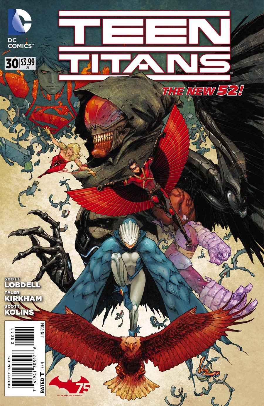 Teen Titans Vol 4 #30 Cover A Regular Kenneth Rocafort Cover