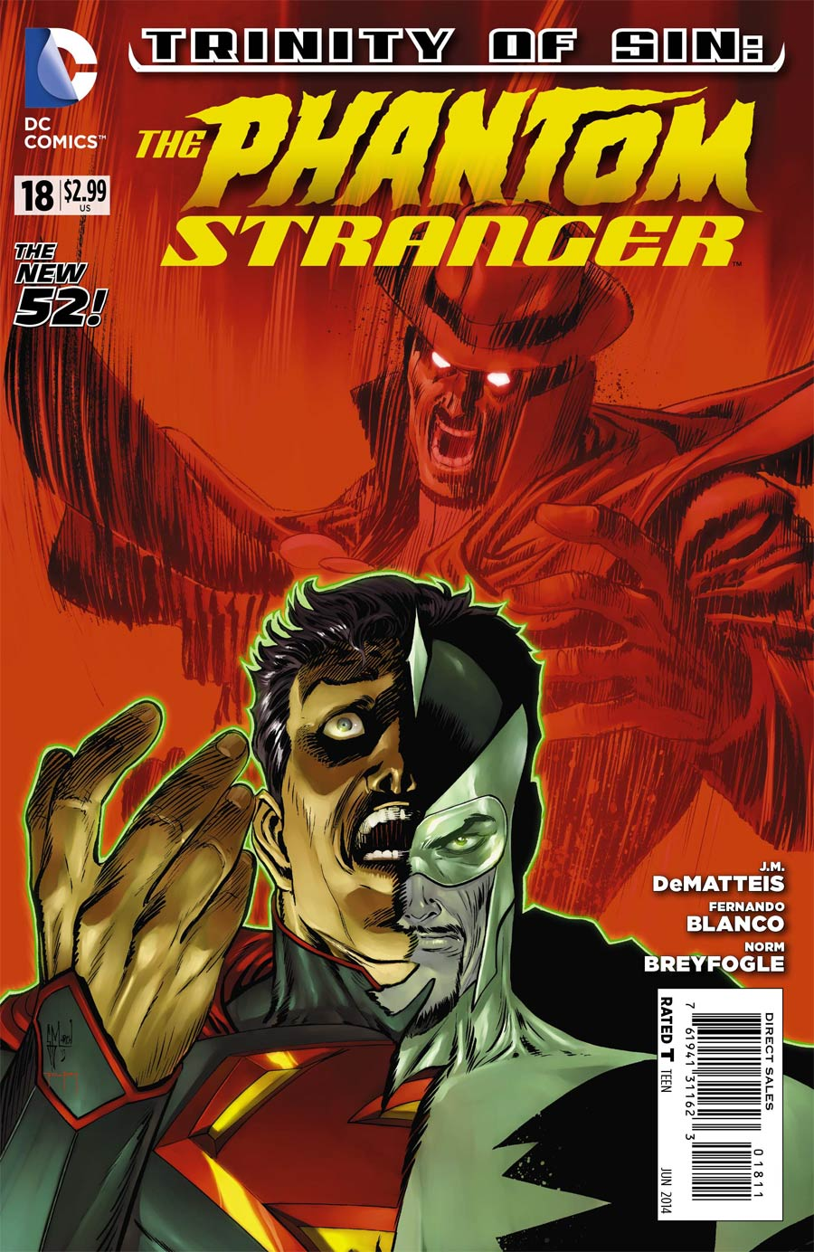 Trinity Of Sin Phantom Stranger #18