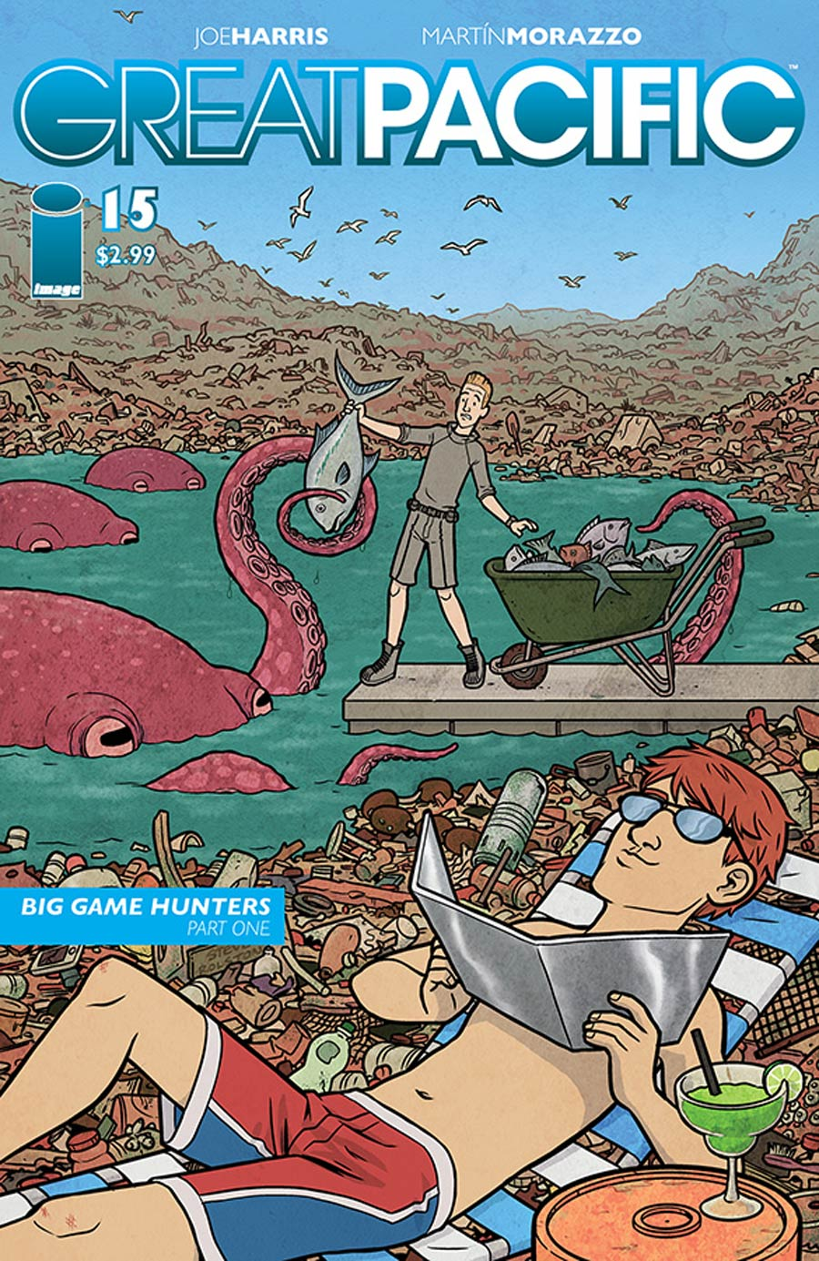 Great Pacific #15 Cover B Steve Rolston