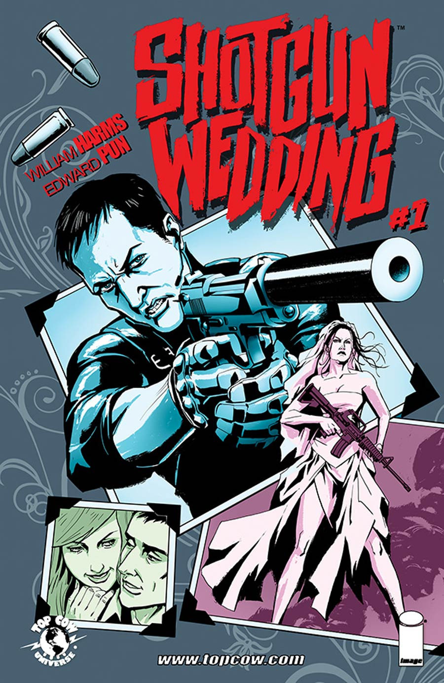 Shotgun Wedding #1 Cover A Regular Edward Pun Cover