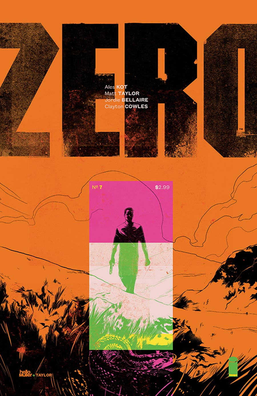 Zero #7 Cover A Matt Taylor & Tom Muller