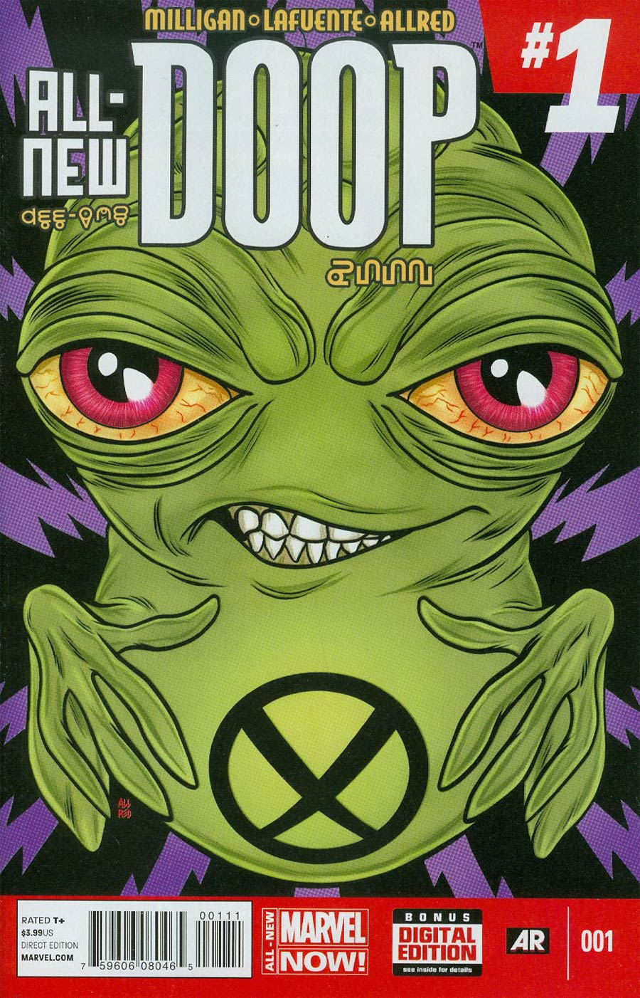 All-New Doop #1 Cover A Regular Michael Allred Cover