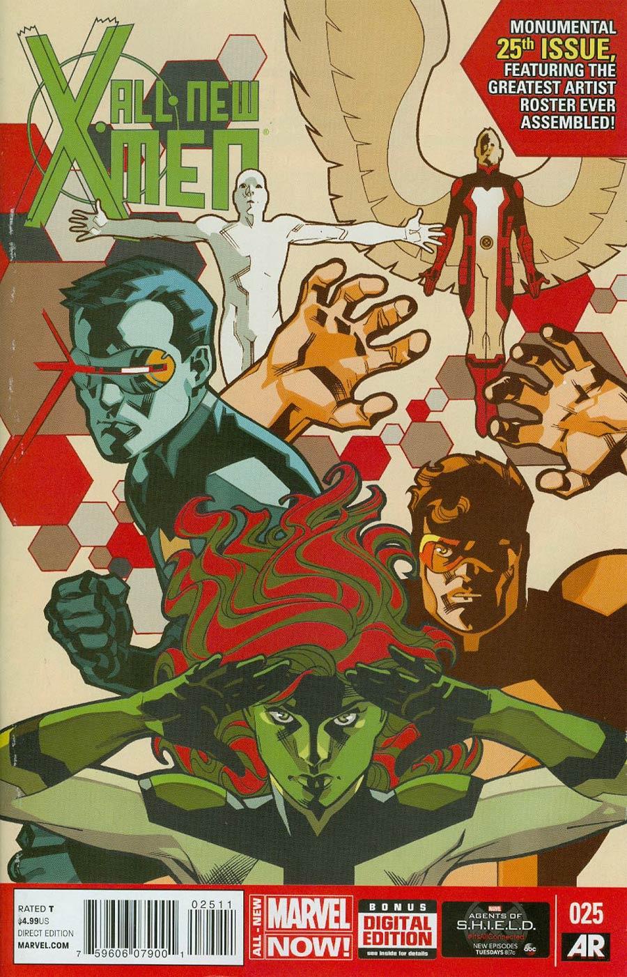 All-New X-Men #25 Cover A Regular Stuart Immonen Cover