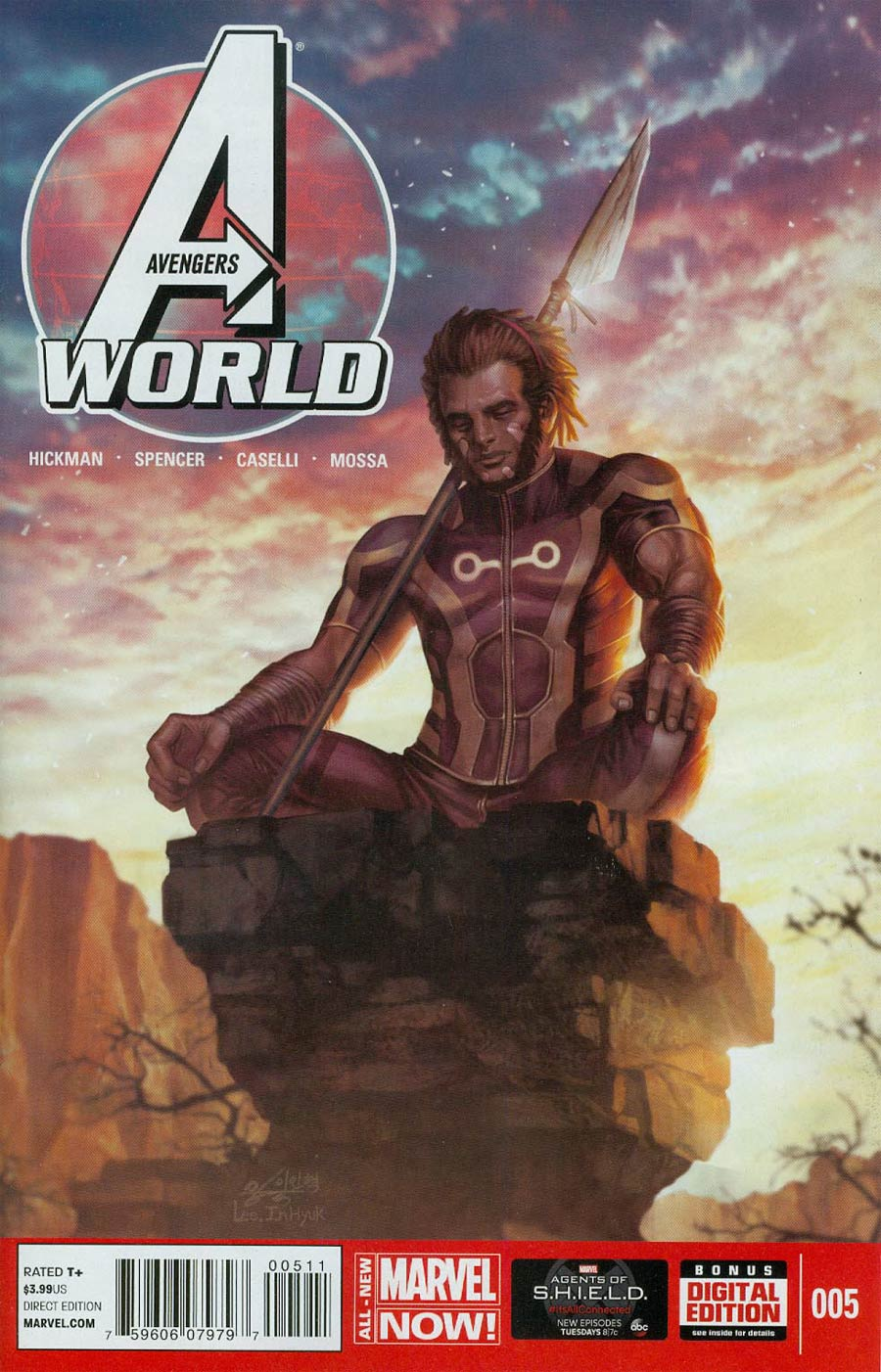 Avengers World #5 Cover A Regular In-Hyuk Lee Cover