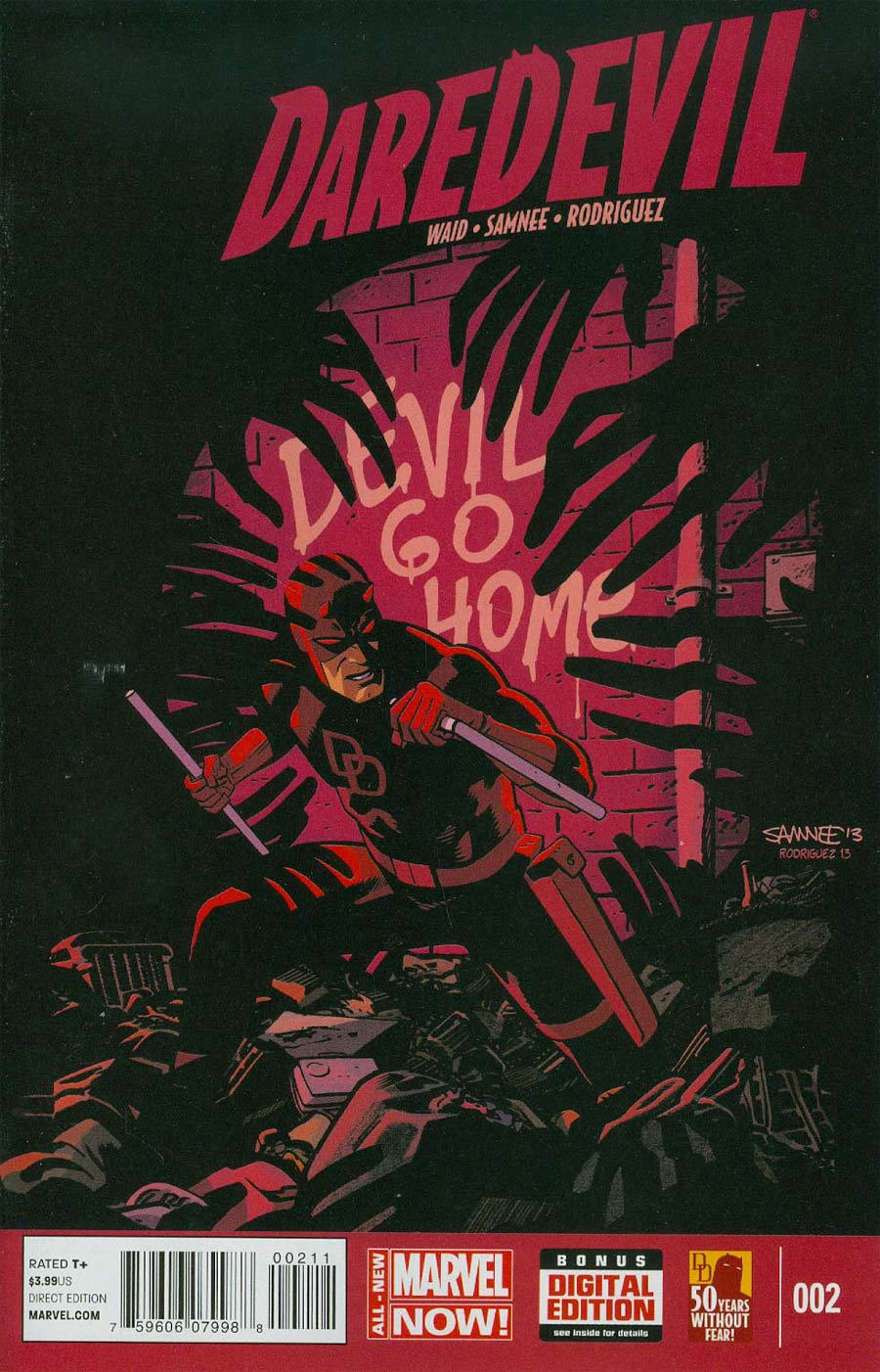 Daredevil Vol 4 #2 Cover A Regular Chris Samnee Cover