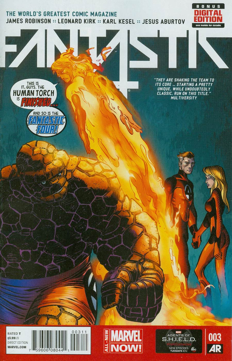 Fantastic Four Vol 5 #3 Cover A Regular John Romita Jr Cover