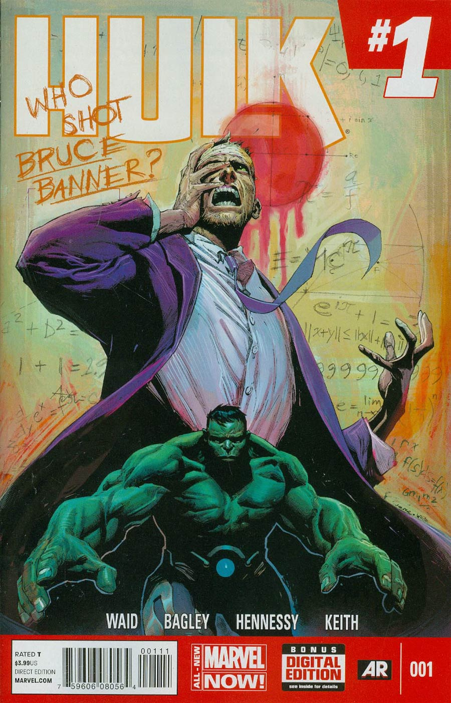 Hulk Vol 3 #1 Cover A Regular Jerome Opena Cover