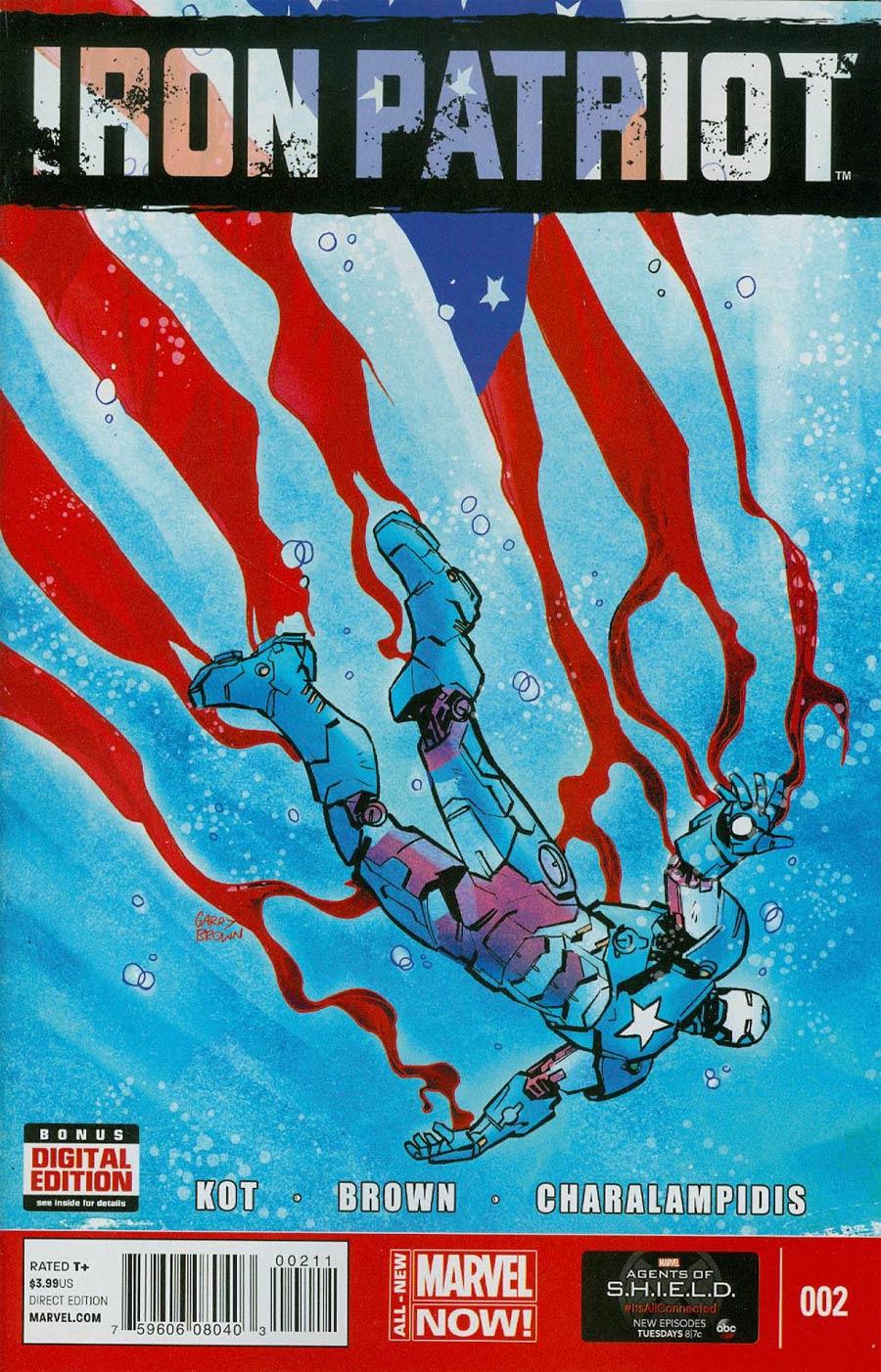 Iron Patriot #2 Cover A Regular Garry Brown Cover