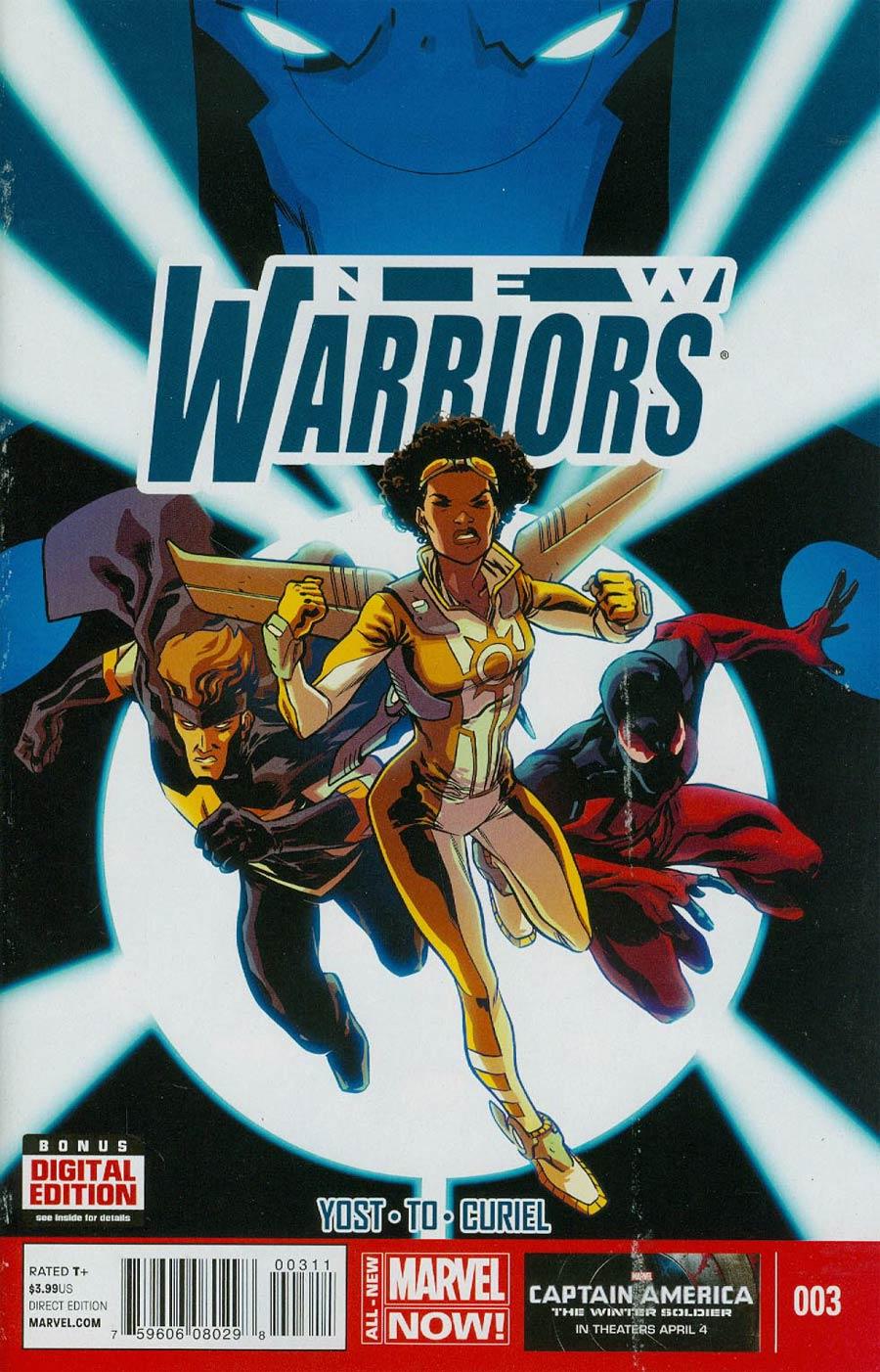 New Warriors Vol 5 #3 Cover A Regular Ramon Perez Cover