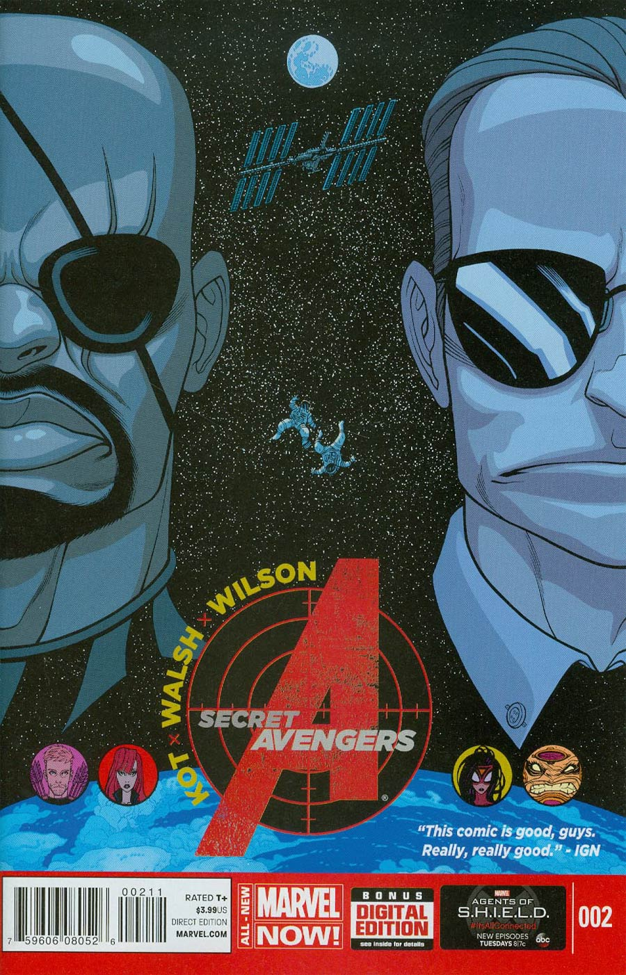 Secret Avengers Vol 3 #2 Cover A Regular Tradd Moore Cover