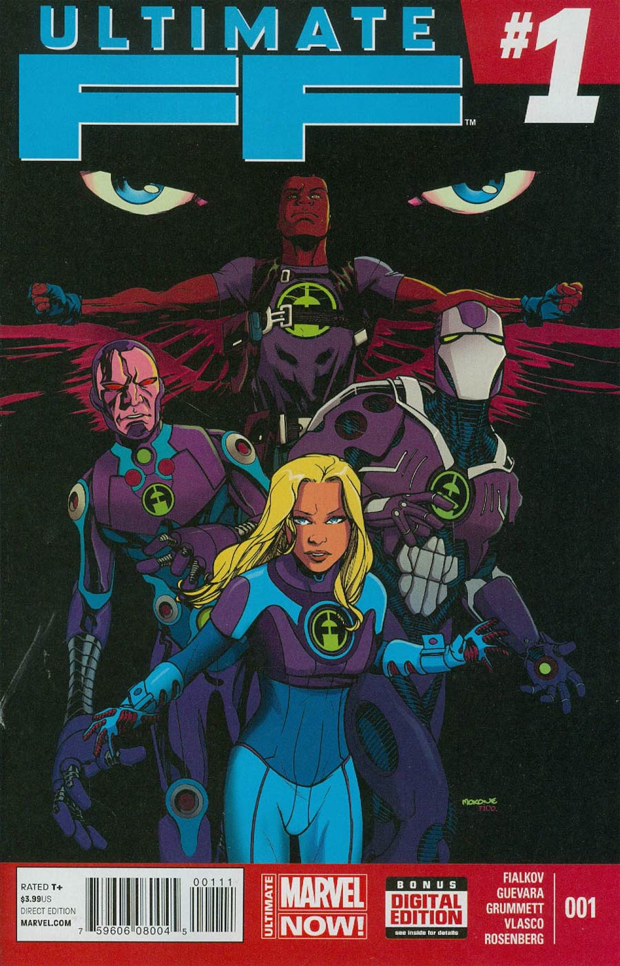 Ultimate FF #1 Cover A Regular Mike McKone Cover
