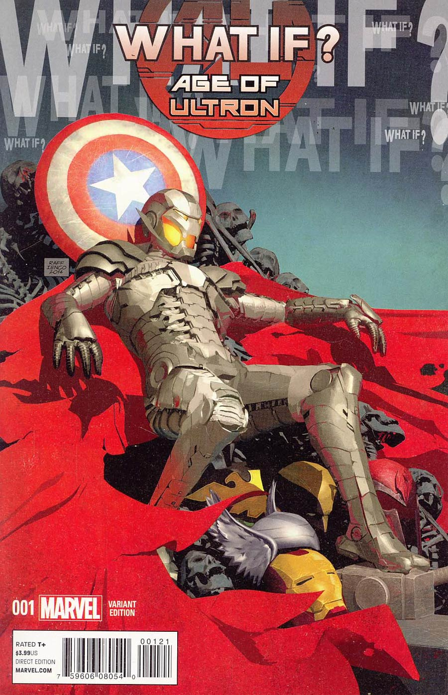 What If Age Of Ultron #1 Cover B Variant Raffaele Ienco Cover