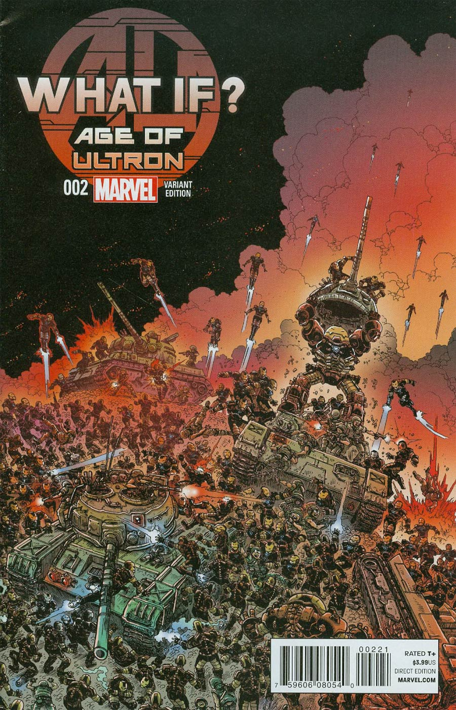 What If Age Of Ultron #2 Cover B Variant James Stokoe Cover