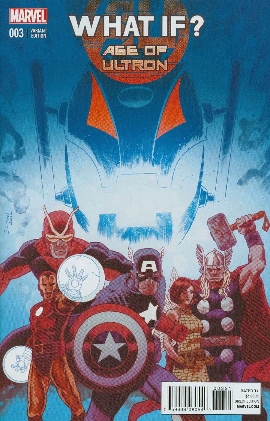 What If Age Of Ultron #3 Cover B Variant Declan Shalvey Cover