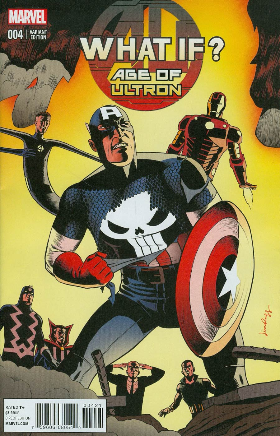 What If Age Of Ultron #4 Cover B Variant Jim Rugg Cover