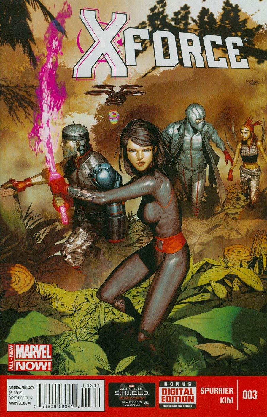 X-Force Vol 4 #3 Cover A Regular Rock-He Kim Cover